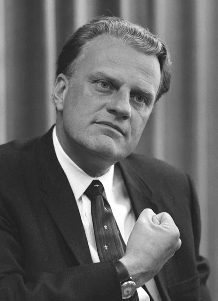Billy Graham Greatest evangelist