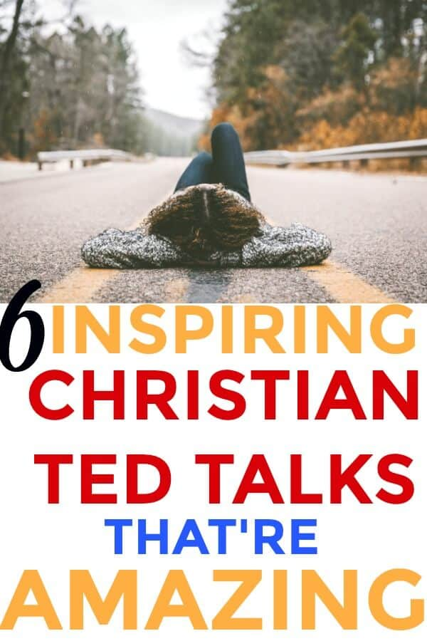 Totally LOVED these 6 Christian Ted Talks! They are SO much better than any other TED talk out there! WOW! LOVE THEM! Christian TED talks are SO amazing! I love Jesus Christ SO MUCH!