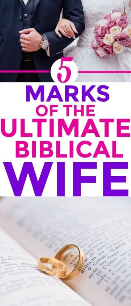 The 5 marks of the Biblical WIFE! I LOVE THIS! I'm SO glad I found this!