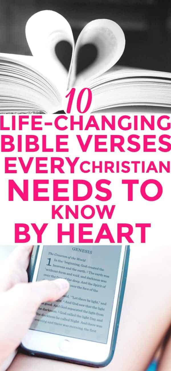 Best Bible Verses: 10 Scriptures Every Christian Should Know