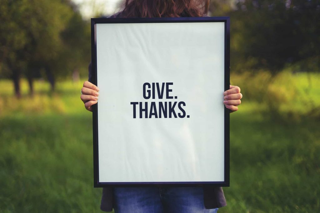 Bible verses about giving thanks